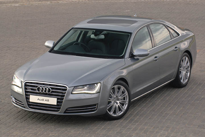 2011 Audi A8 4.2 FSi front view