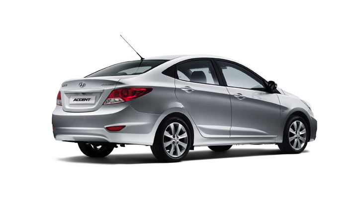2012 Hyundai Accent rear