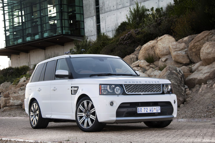 2012 Range Rover Autobiography front
