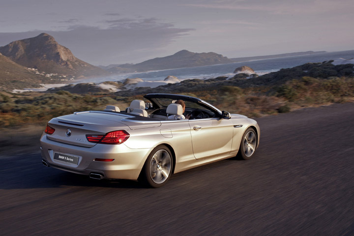 2012 BMW 650i convertible rear