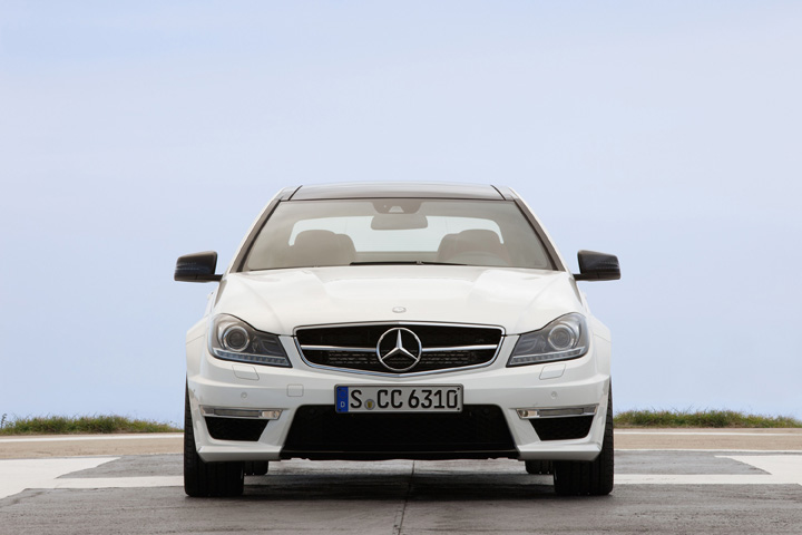 2012 Mercedes-Benz C63 AMG coupe front