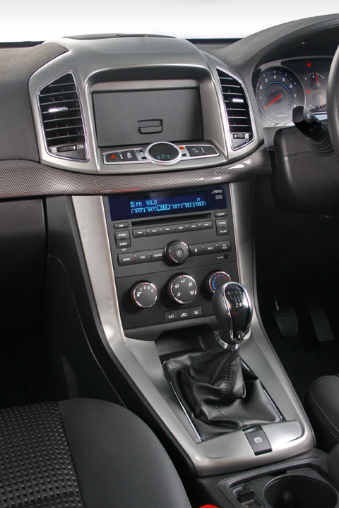 2011 Chevrolet Captiva interior