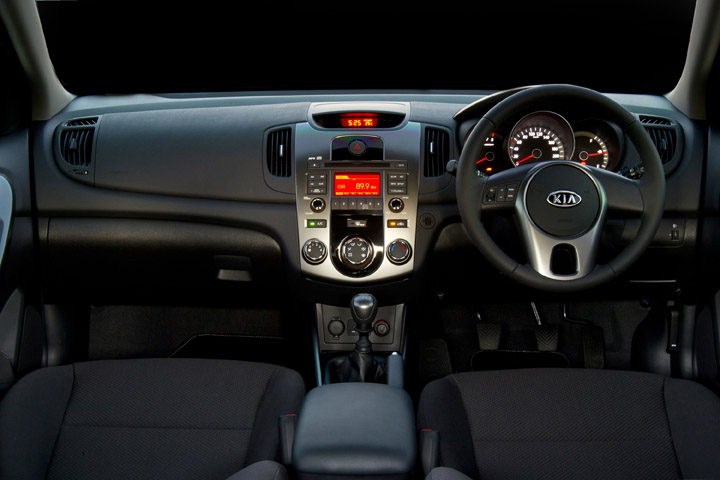 2011 Kia Cerato Hatch inside view