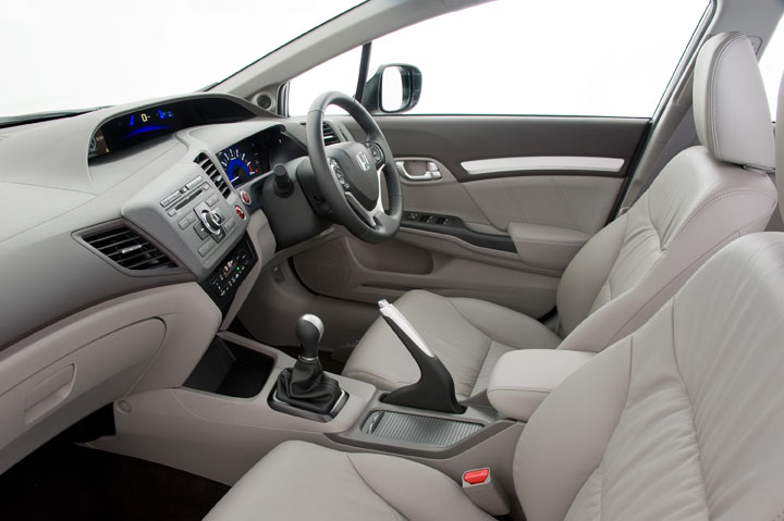 2012 Honda Civic inside