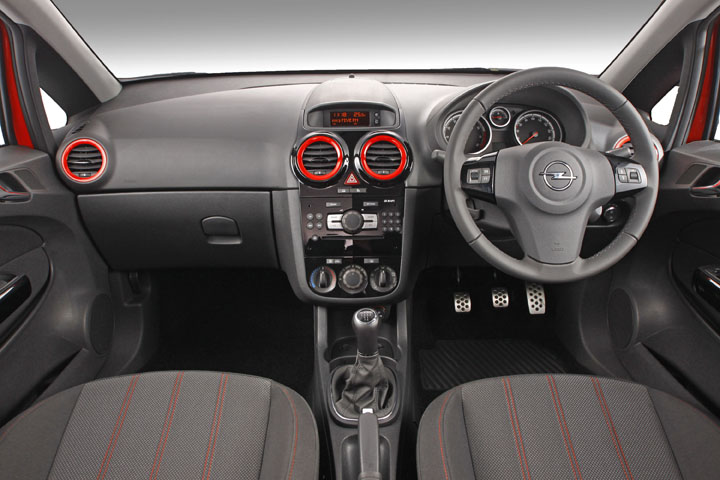 2011 Opel Corsa Colour Edition inside view