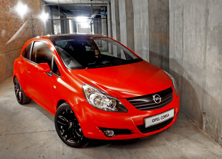 2011 Opel Corsa Colour Edition front view
