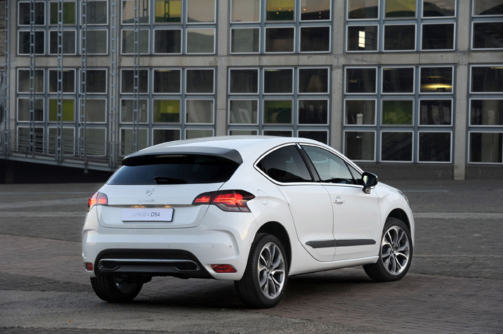 2011 Citroen DS4 rear