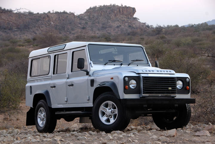 2011 Land Rover Defender 110 Multi Purpose front view