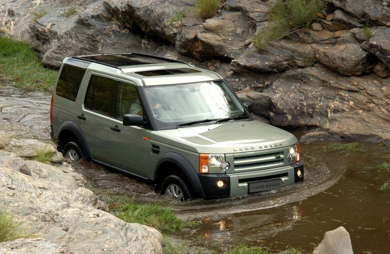Land Rover Discovery3 wading