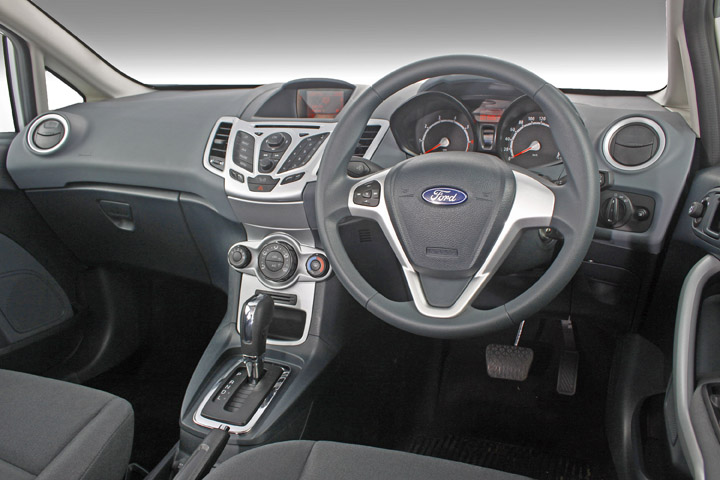 2011 Ford Fiesta interior view