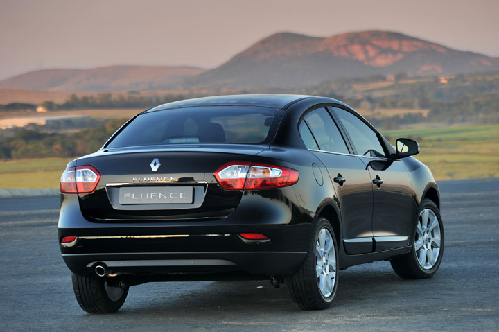2011 Renault Fluence rear