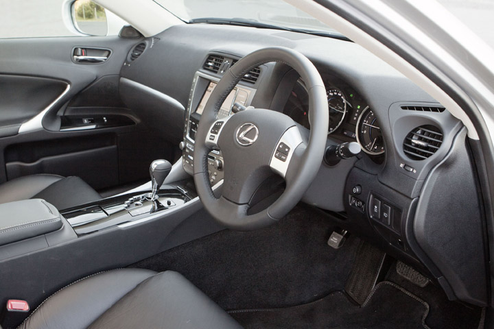 2012 Lexus IS 350 interior