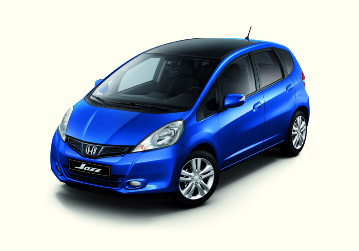 2011 Honda Fit front view