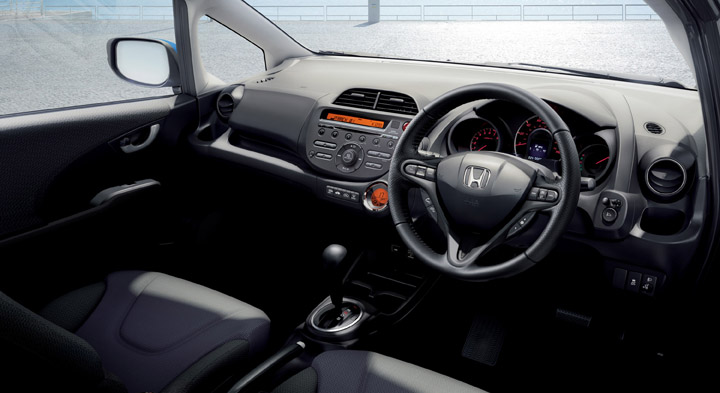 2011 Honda Fit interior view