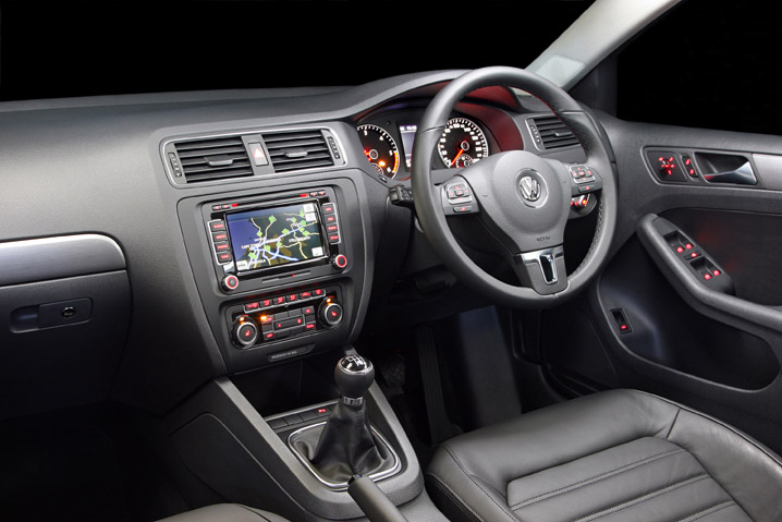 2011 VW Jetta interior