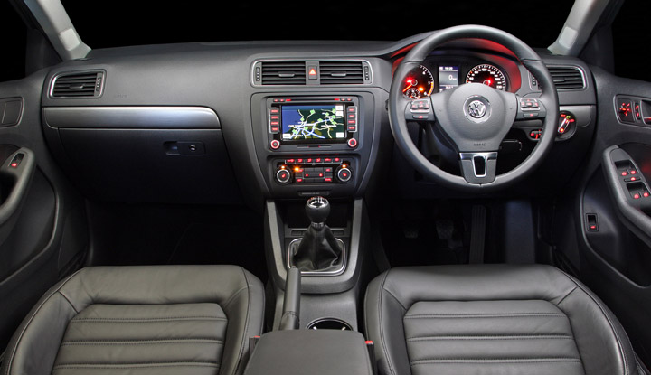 2011 VW Jetta CDI interior