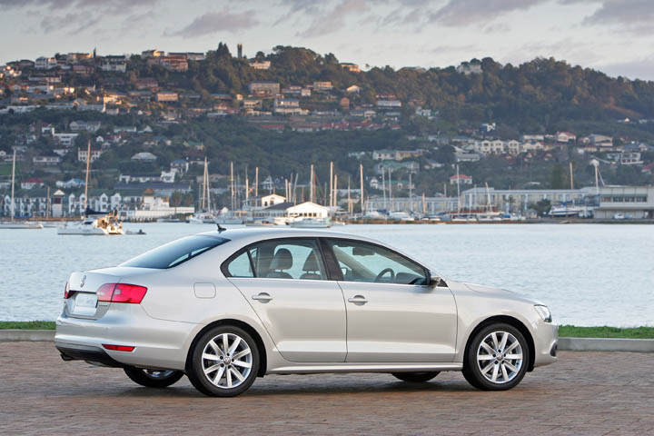 2011 VW Jetta 1.6 TDi rear