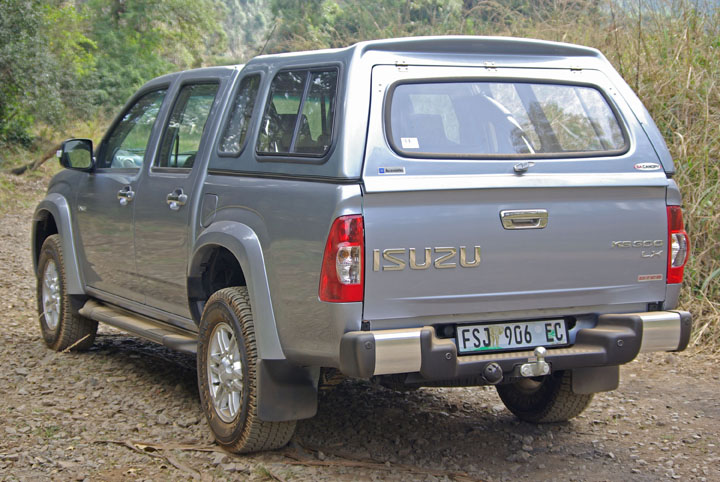 2012 Isuzu D Max rear