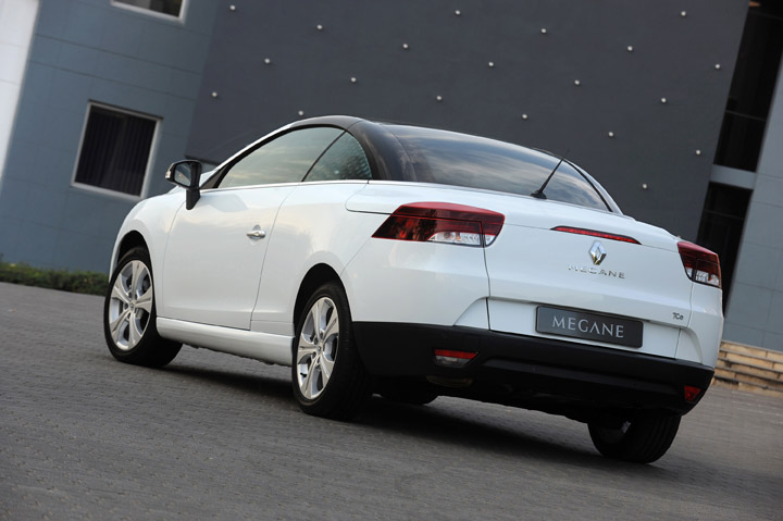 2011 Renault Megane Coupe Cabriolet rear view