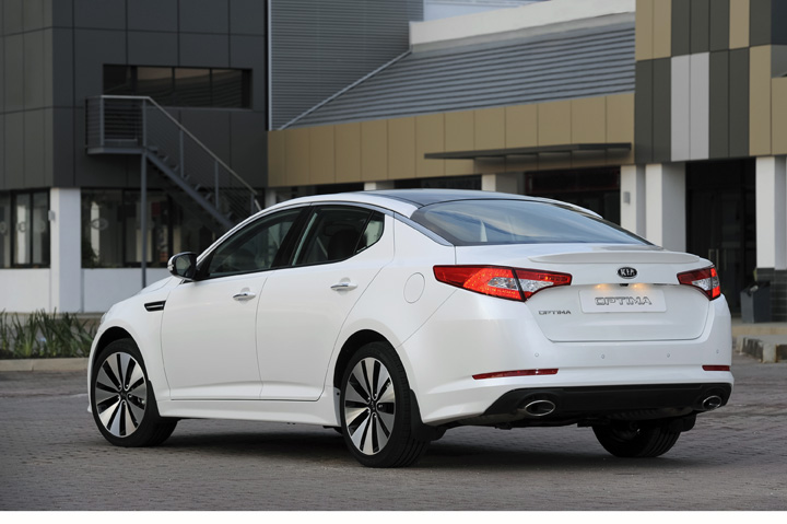 2012 Kia Optima rear