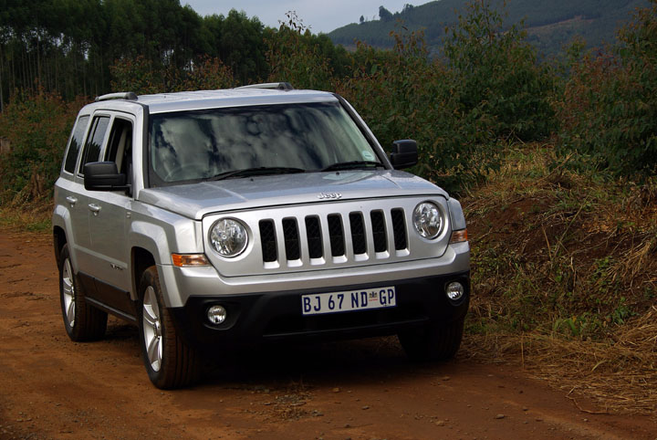 2012 Jeep Patriot front