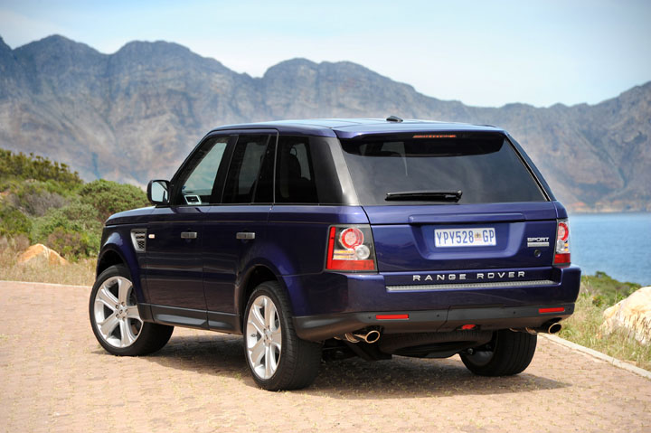 2011 Range Rover Sport rear view