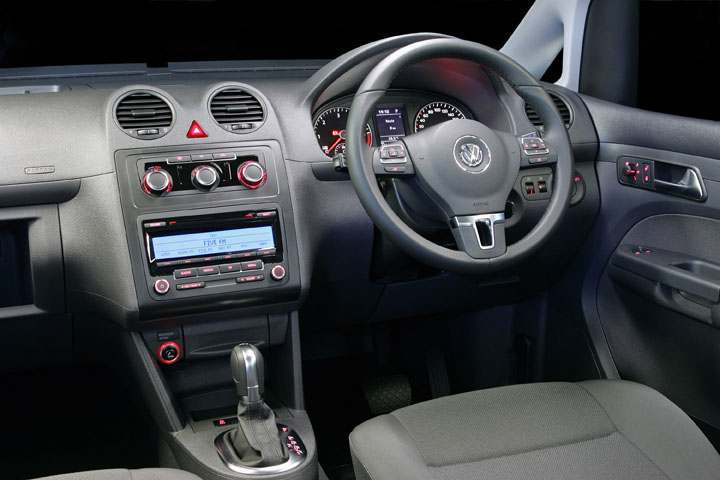 2011 Volkswagen Caddy Trendline interior view