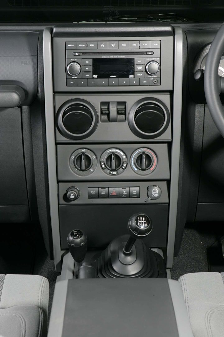 2009 Jeep Wrangler interior