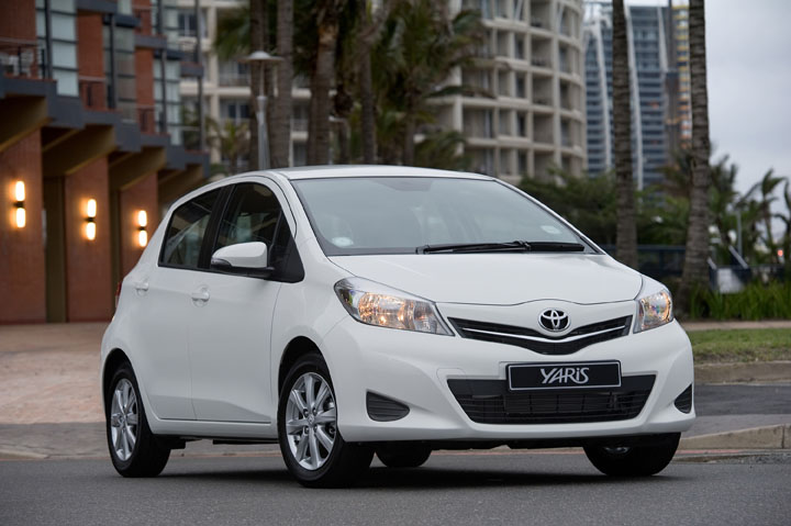 2012 Toyota Yaris 5-door